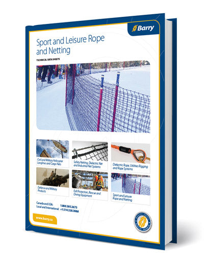 Catalog of Sport and Leisure Rope and Netting