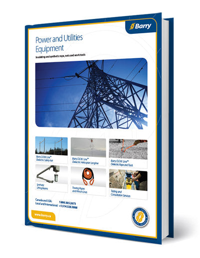 Catalog of Dielectric Rope and Nets and Equipment for Live Line Utility Work
