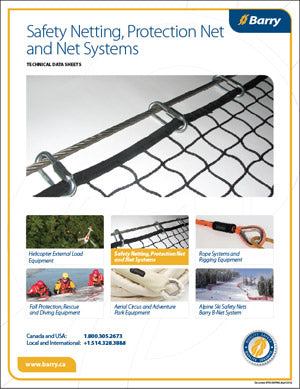 Safety Netting, Protection Net and Net Systems