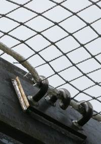 Ice Fall Safety Nets and Netting Systems