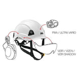 Petzl VERTEX® VENT Comfortable ventilated helmet for work at height and rescue