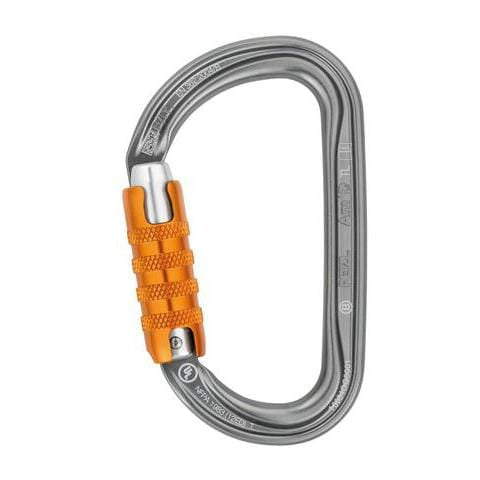 Petzl Am'D Lightweight asymmetric carabiner