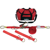 PRO-Line™ Synthetic Horizontal Lifeline System with two Tie-Off Adaptors