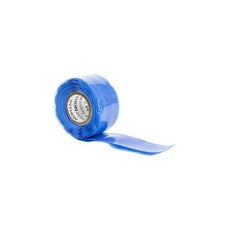 "Python Safety™ Quick Wrap Tape - Blue - 1"" Wide - Barry Cordage"