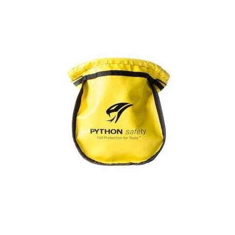 Python Safety™ Small Parts Pouch - Vinyl Yellow