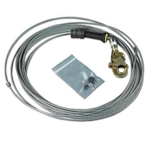 FAST-Line™ Galvanized Cable Assembly with Hook 85 ft. (25.9 m) - Barry Cordage