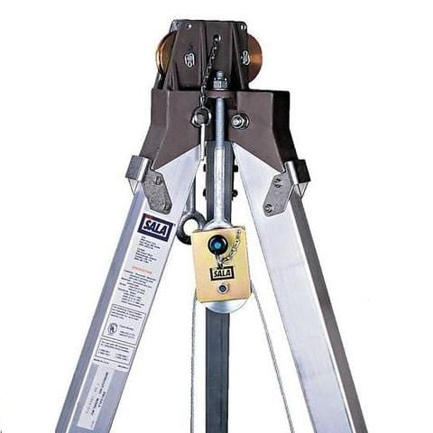 Confined Space Tripod Pulley - Barry Cordage