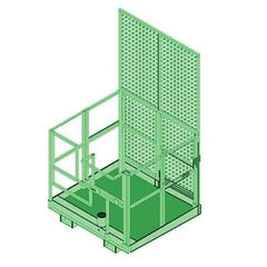 Advanced™ Forklift Basket Davit Base - Barry Cordage