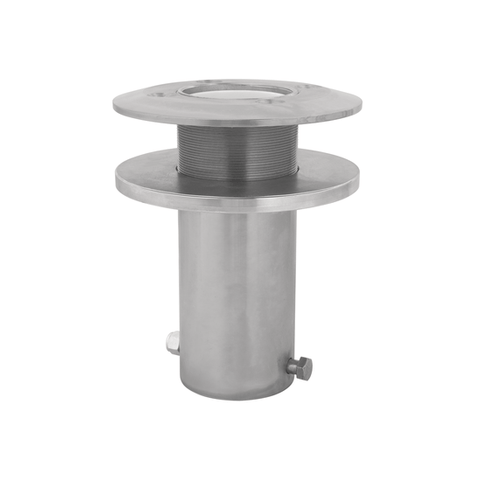 Advanced™ Deck Mount Sleeve Davit Base stainless steel