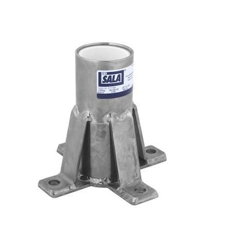 Advanced™ Floor Mount Sleeve Davit Base stainless steel - Barry Cordage
