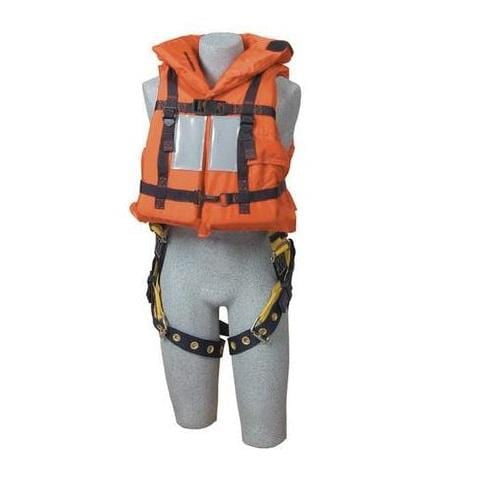 Off-Shore Lifejacket with Harness D-ring Opening - Barry Cordage