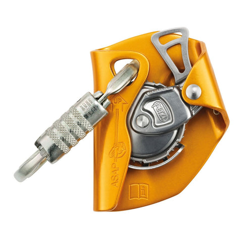Petzl ASAP® Mobile fall-arrest device for rope international version