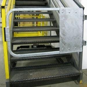 GuardDod Galvanized Self-Closing Safety Gates