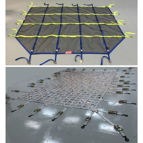 Helicopter Interior Cargo Nets for Military Applications