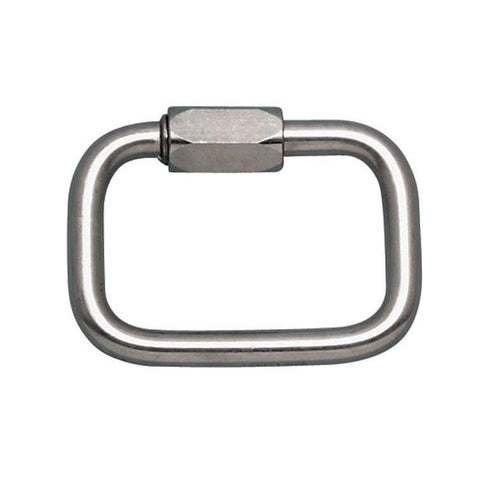 "Square Quick Link 1/2"" Stainless Steel (WLL 3800 lbs)"