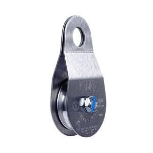 SMC/RA Stainless Steel Single Pulleys 2'' X 1/2'' Oilite