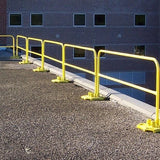 4 ft Rail Kit Galvanized (includes: 1 base and 1 guardrail)