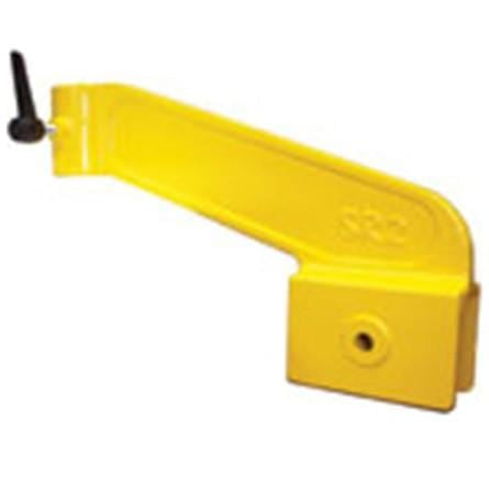 Toe board bracket to hold a 2'' x 4'' (2'' x 4'' non included)