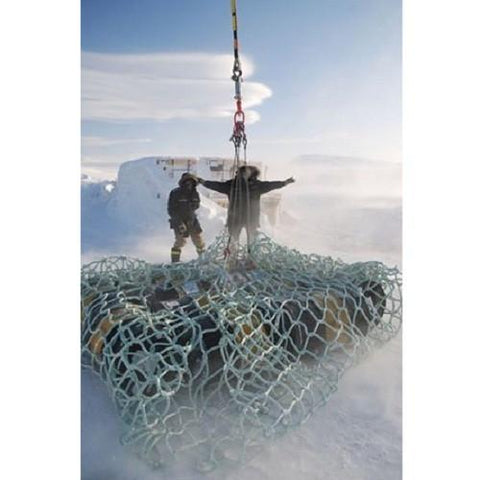 Military Helicopter External Transport Cargo Nets - Barry Cordage