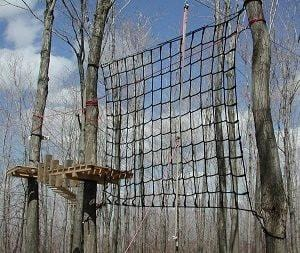 Climbing Net and Obstacle Race Net - Barry Cordage