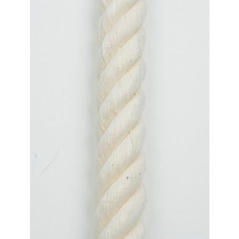 Cotton 3 and 4-Strand Rope
