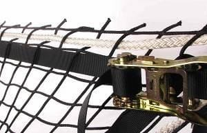 Nets and Netting Finishing-Exosqueleton (webbing & strap ratchet) (F9)