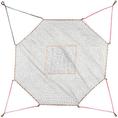 Helicopter Cargo Net - 6600 lb WLL - Square - Model C1 - Barry Cordage