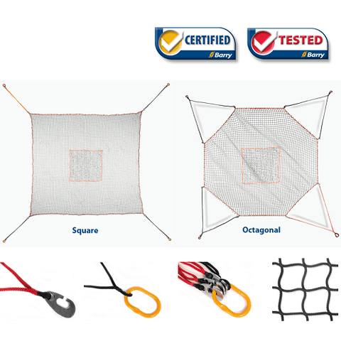 Helicopter Cargo Net - 5 000 lbs WLL - Model CG