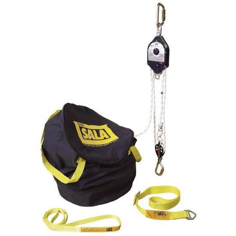 Rollgliss™ RPD Rescue Positioning Device - 4:1 Ratio 30 ft. ( 9.15 m) - Barry Cordage