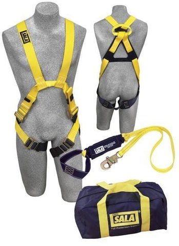 Delta™ Arc Flash Harness and Lanyard Kit (size X-Large) - Barry Cordage