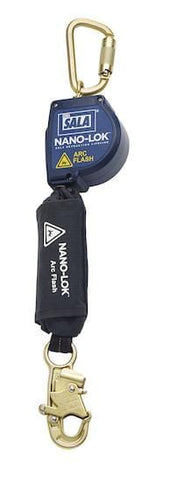 Nano-Lok™ Arc Flash Self Retracting Lifeline with Anchor Hook - Barry Cordage