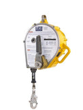 "Sealed-Blok™ Self Retracting Lifeline - RSQ™/Retrieval 130 ft. (39m) of 3/16"" (5mm) stainless steel wire rope"