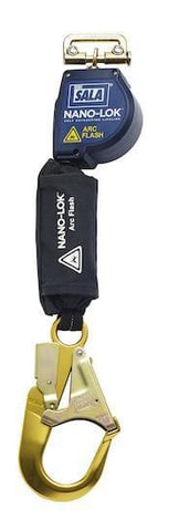 Nano-Lok™ Arc Flash Quick Connect Self Retracting Lifeline - Rebar Hook - Barry Cordage