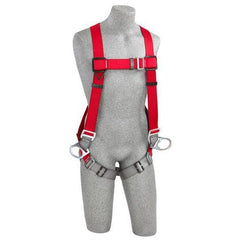 PRO™ Vest-Style Positioning Harness pass-thru buckle leg straps - Barry Cordage