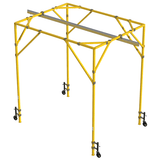 FlexiGuard™ Box Frame System with 21 ft. (6.4m) anchor height, 15 ft. (4.6m) width