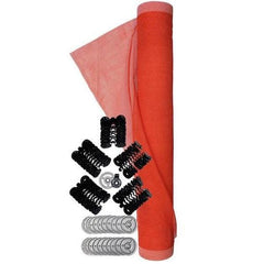 Sinco™ Vertical Debris Net with Attachment Kit 5-1/2 x 100 ft. (1.7 x 30.5 m) orange - Barry Cordage