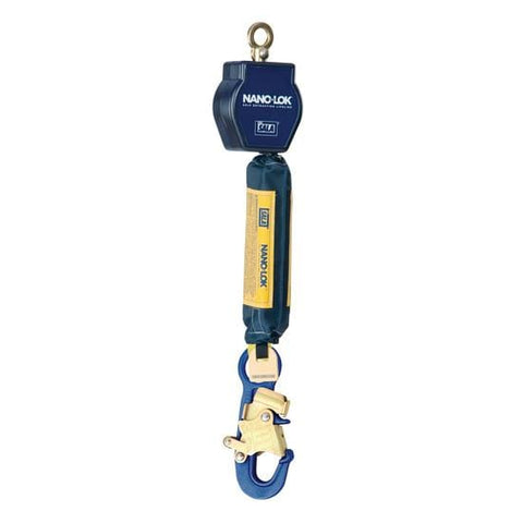 Nano-Lok™ Self Retracting Lifeline 6 ft. (1.8m) - Web with aluminum snap hook