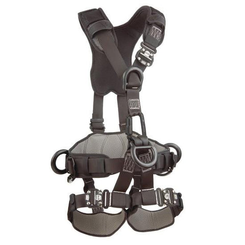 ExoFit NEX™ Rope Access/Rescue Harness - Black-Out (size X-Large) - Barry Cordage