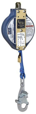 Ultra-Lok™ Self Retracting Lifeline 20 ft. (6.1m) - Web with stainless steel swivel snap hook - Barry Cordage
