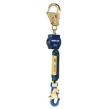 Nano-Lok™ Self Retracting Lifeline with Anchor Hook - Web - Swiveling Aluminum Rebar Hook/Aluminum Snap Hook