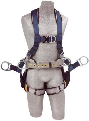ExoFit™ Tower Climbing Harness (size Large) - Barry Cordage