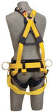 Delta™ Cross-Over Style Tower Climbing Harness With Tongue Buckle Leg Straps