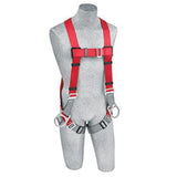 PRO™ Vest-Style Positioning Harness pass-thru buckle leg straps