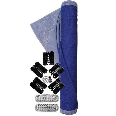 Sinco™ Vertical Debris Net with Attachment Kit 5-1/2 x 100 ft. (1.7 x 30.5 m) blue