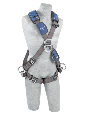ExoFit NEX™ Cross-Over Style Positioning/Climbing Harness (size Large) - Barry Cordage
