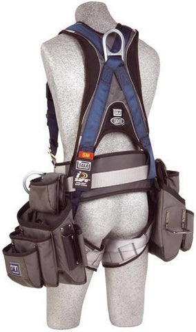 ExoFit™ Construction Style Harness with Tool Pouches