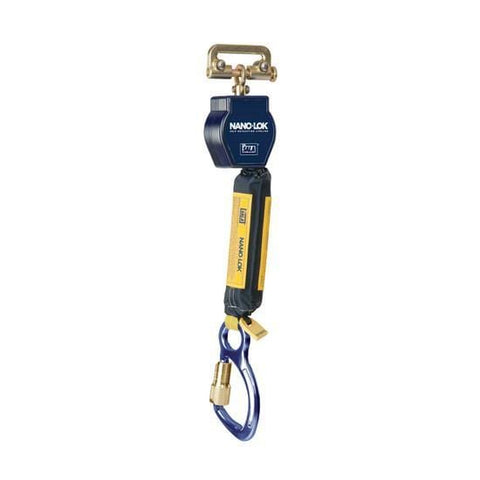 Nano-Lok™ Quick Connect Self Retracting Lifeline - Web - Aluminum Carabiner