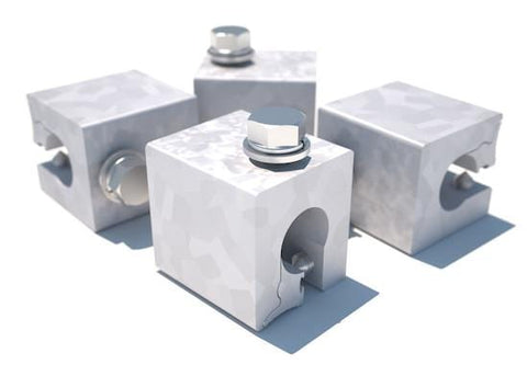 Z Maxi Clamp 4-Pack for Standing Seam Roof Top Anchor