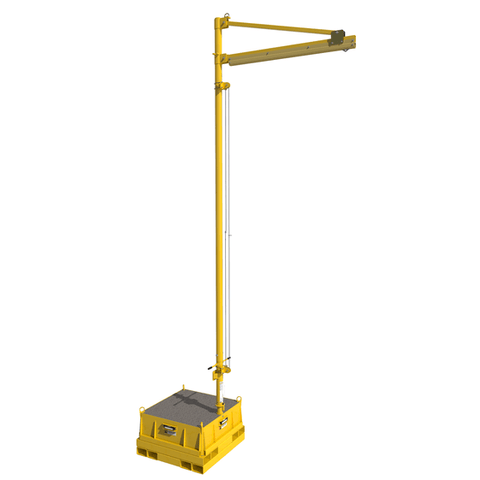 FlexiGuard™ Counterweight Jib 16.75 ft. (5.1 m) anchor height - with concrete