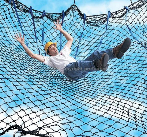 Sinco™ Adjust-A-Net™ Debris/Personnel Net 10 x 10 ft. (3 x 3 m) - Barry Cordage